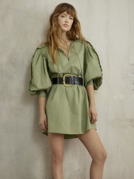 Фото №2 - Зеленая неделя: наряд на каждый день в самом модном оттенке лета