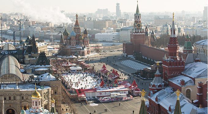 28 ноября на Красной площади состоялось торжественное открытие 15-го сезона ГУМ-Катка