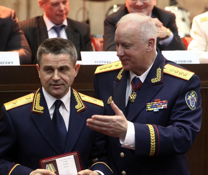 Владимир Маркин и Александр Бастрыкин