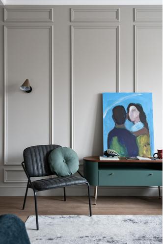 Фото №5 - Квартира 45 м²: в гостях у дизайнера Леси Печенкиной