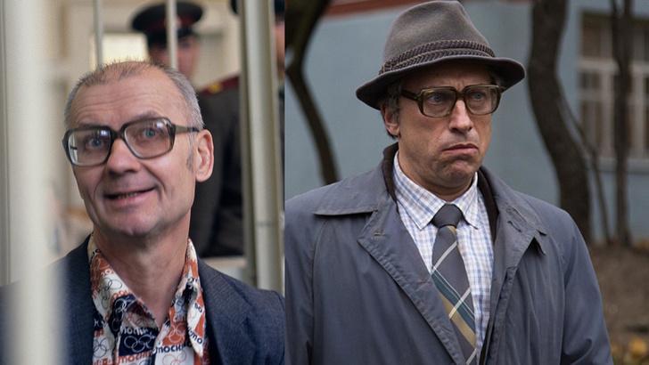 Фото №1 - Похожи ли актеры на знаменитостей, которых они играли? Часть 2: Россия