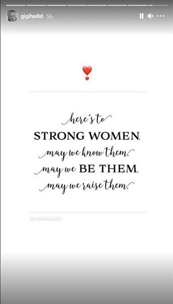 Фото №2 - Как Джиджи Хадид отпраздновала Международный женский день в новой для себя роли