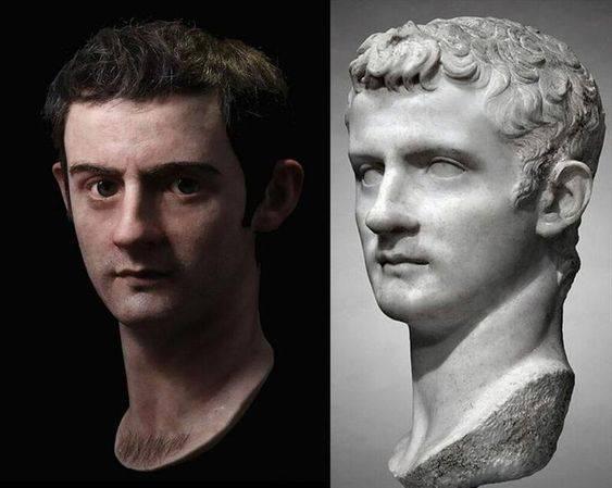 Фото №2 - Как выглядели бы в реальной жизни знаменитые статуи