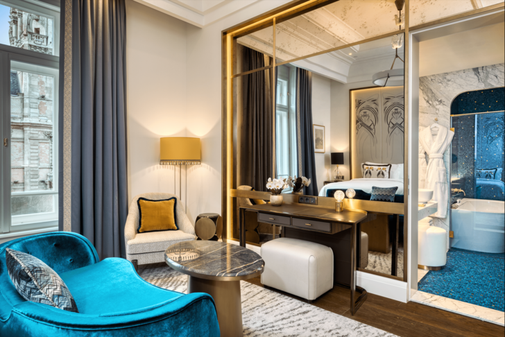 Фото №7 - Обновленный отель-дворец Matild Palace в Будапеште
