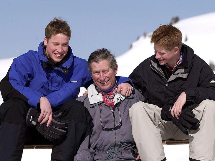 Фото №8 - Счастливые годы: самые трогательные фото принца Чарльза с сыновьями