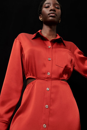 Фото №12 - Lady in red: Nanushka представили коллекцию в честь Китайского Нового года