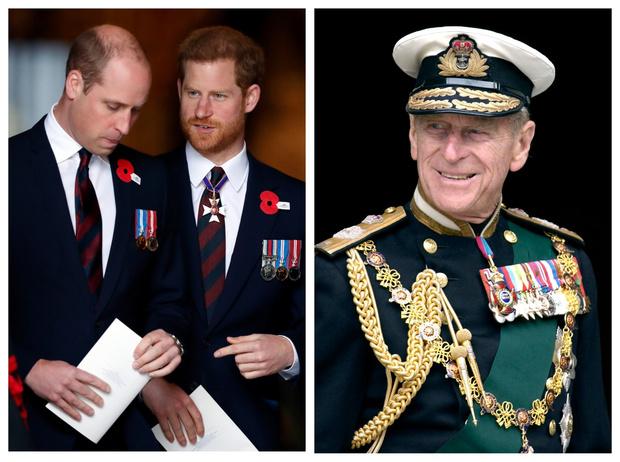 Фото №1 - «Долг», который Уильяму и Гарри придется отдать принцу Филиппу (несмотря на их конфликт)