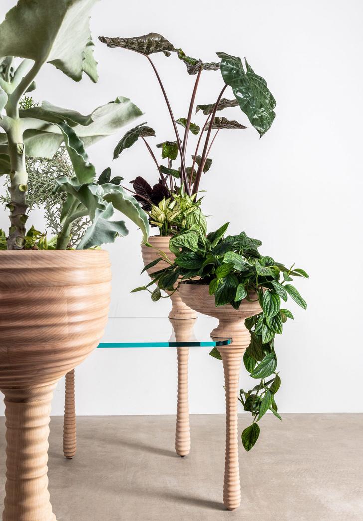 Фото №5 - Стол с кашпо для растений от Heatherwick Studio