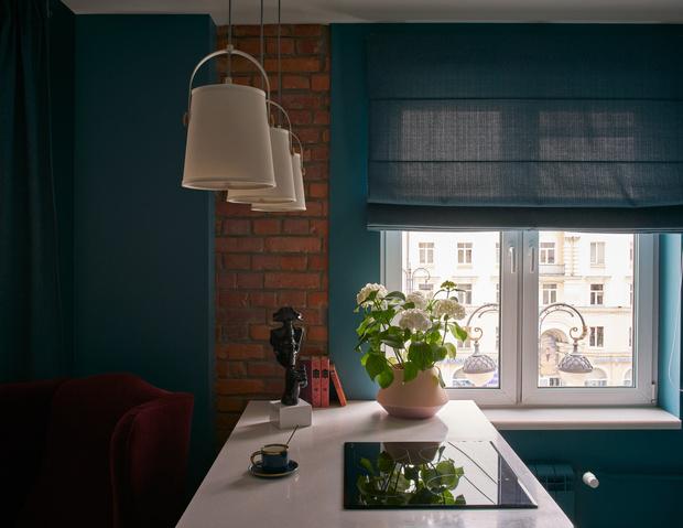 Фото №3 - Синяя квартира 53 м² в Екатеринбурге