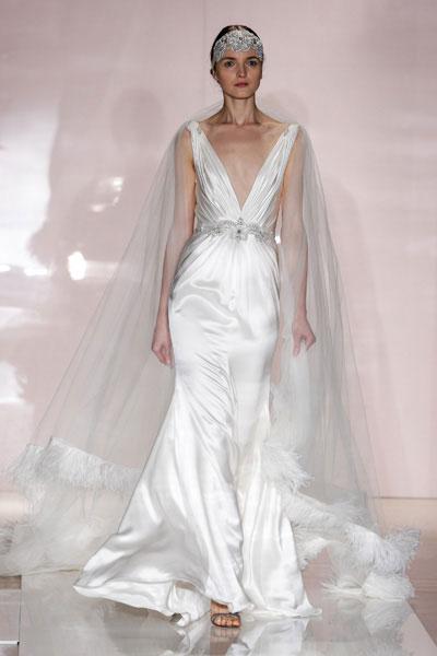 Свадебное платье Reem Acra осень-2014