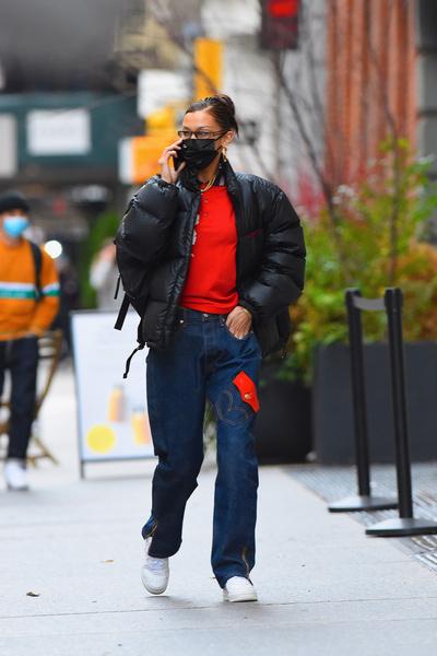 Фото №2 - Что носить зимой: модные образы от селебов