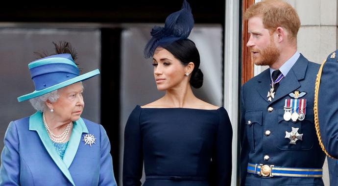 Королева говорит: Букингемский дворец отреагировал на скандальное интервью Меган и Гарри