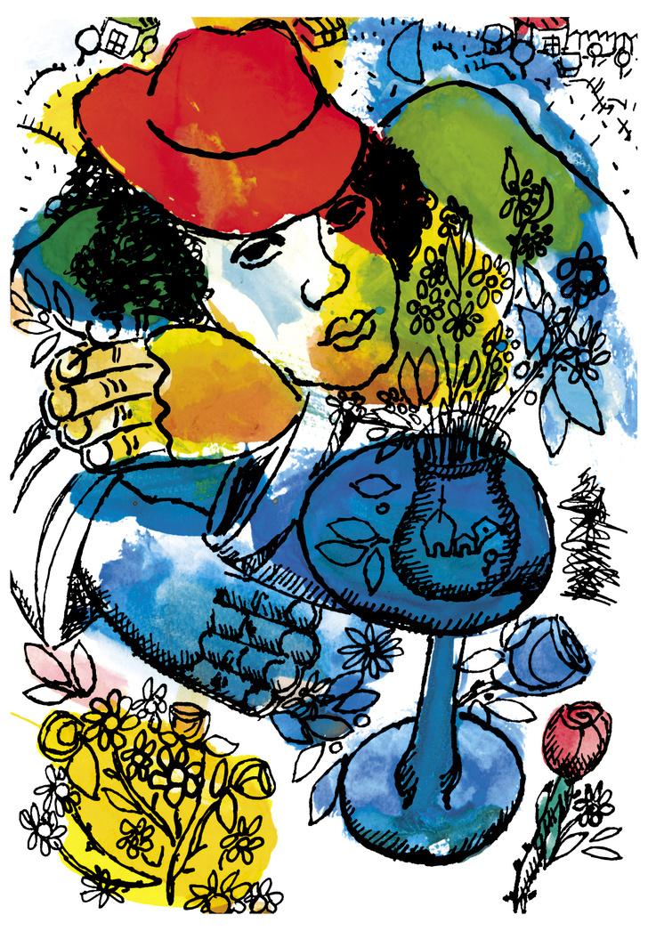 Фото №6 - Работы Пикассо, Шагала и Церетели на выставке в Москве