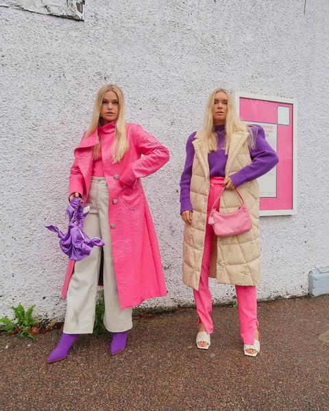 Фото №7 - Как носить color blocking зимой 2021: вдохновляемся луками fashion-инфлюенсеров