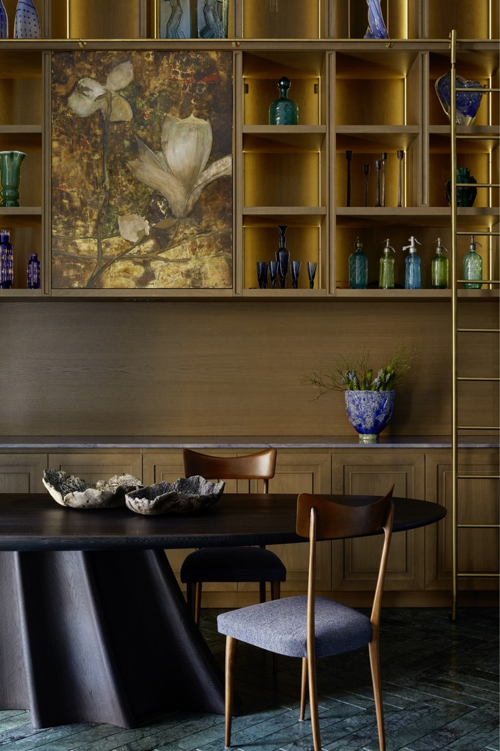 Фото №4 - Двухэтажная квартира «на Патриках»: проект Аллы Шумейко