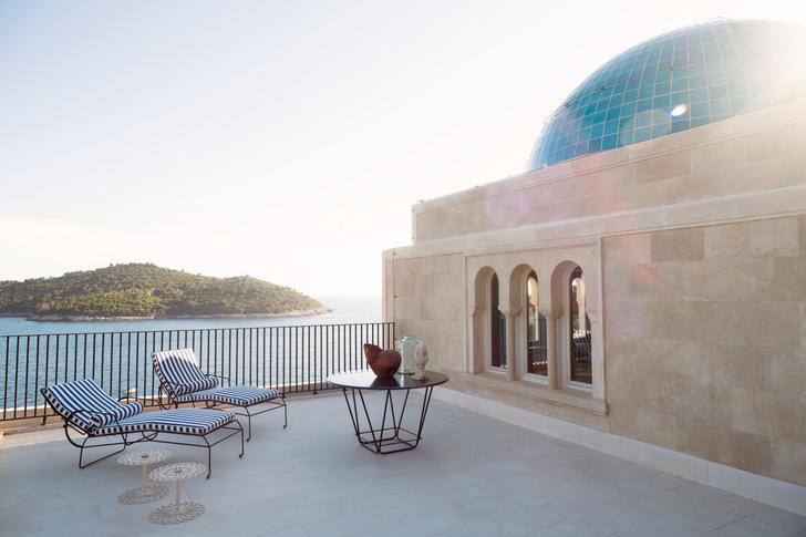 Фото №9 - Villa Sheherezade в Дубровнике: проект Dimorestudio