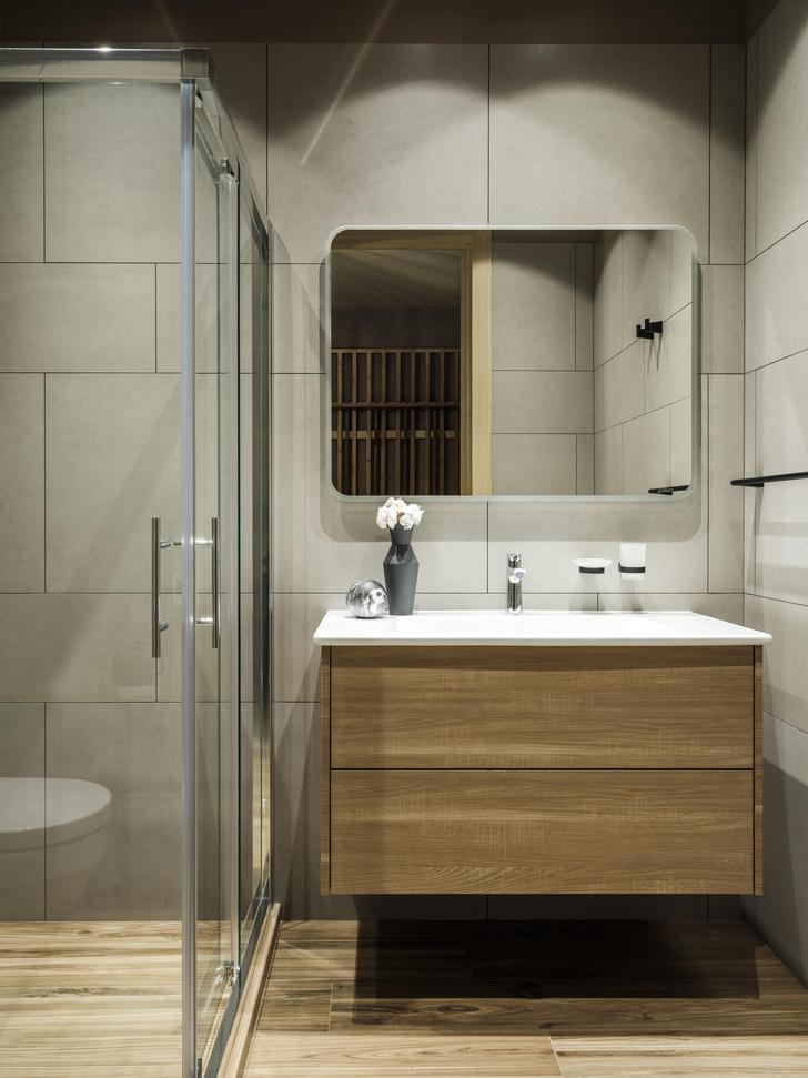 Фото №16 - Как в кино: индустриальный интерьер квартиры 107 м²