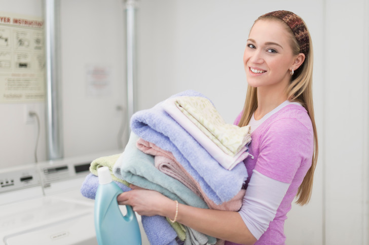как стирать полотенца в стиральной машине