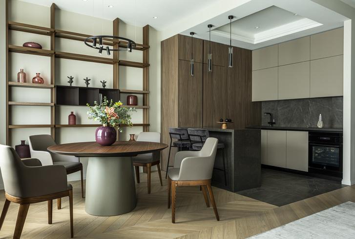 Фото №1 - Европейский интерьер московской квартиры 90 м² для иностранца