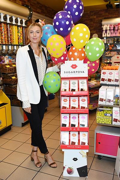 Фото №1 - Потеряв рекламные контракты, Шарапова перешла на конфеты