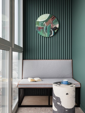 Фото №10 - Эклектичная квартира для пары путешественников в Минске