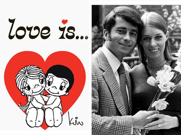 Фото №1 - Love is: трагичная история пары, подарившей миру самые знаменитые комиксы о любви