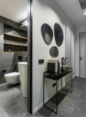 Фото №11 - Европейский интерьер московской квартиры 90 м² для иностранца