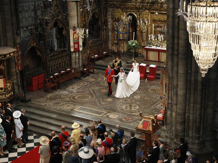 Фото №2 - Самый важный момент свадьбы Кейт и Уильяма, который никто не увидел