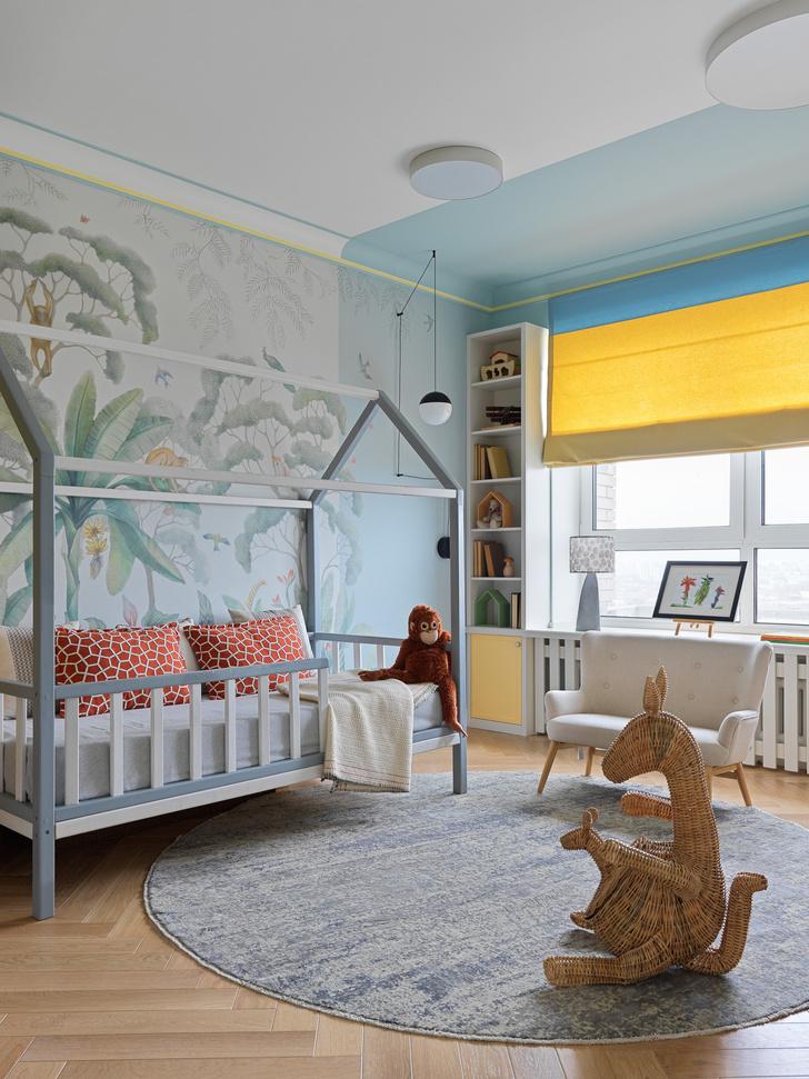 Фото №14 - Современная квартира с винтажной мебелью