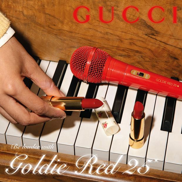 Фото №3 - Счастливчик 25: новые помады Gucci в самом любимом цвете Алессандро Микеле