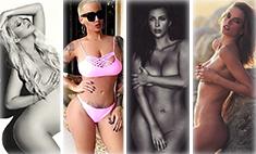 10 звездных мам с «голыми» снимками в «Инстаграме»