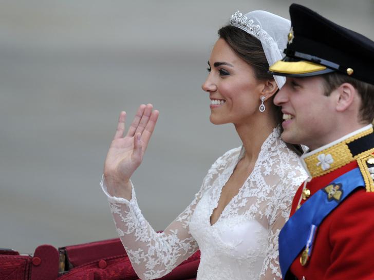 Фото №2 - Память о Диане: самая трогательная деталь свадьбы Кейт и Уильяма