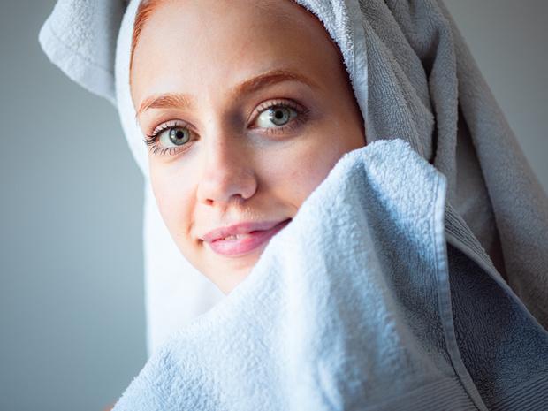 Бумажные полотенца для лица кожи