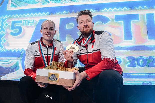 Фото №3 - Лед и пламя: в Дудинке прошел Международный турнир по керлингу Arctic Curling Cup 2021