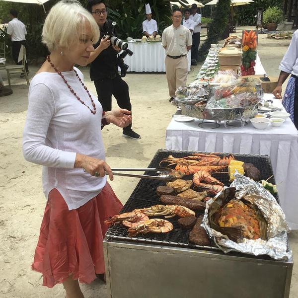 Фото №4 - Что делает 75-летняя Хелен Миррен, чтобы выглядеть на 50