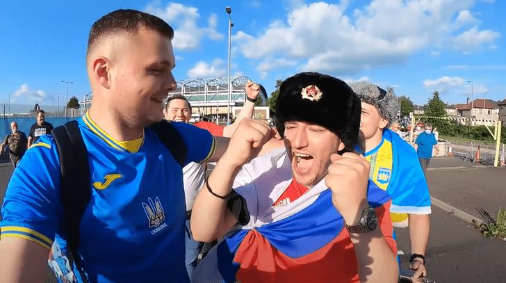 Фото №1 - «Думал, они поймут»: избитый украинцами русский фанат рассказал о драке