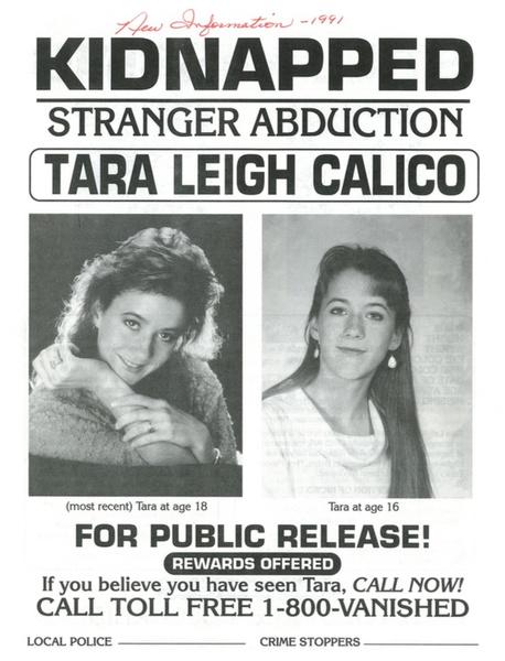 Фото №4 - На долгую и страшную память: загадочное исчезновение Тары Калико, от которой осталось лишь странное фото