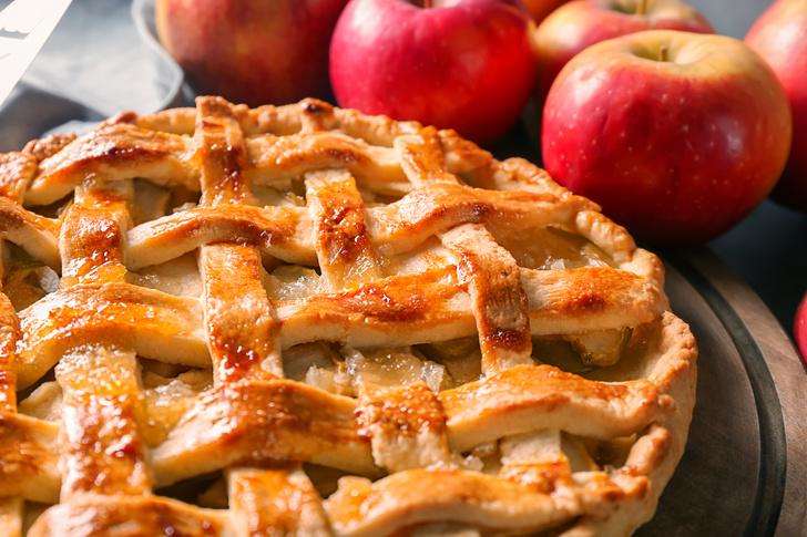 Фото №1 - Как с картинки: приготовьте плетеный яблочный пирог