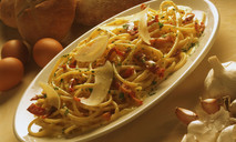 Рецепт макарон с фаршем и сыром