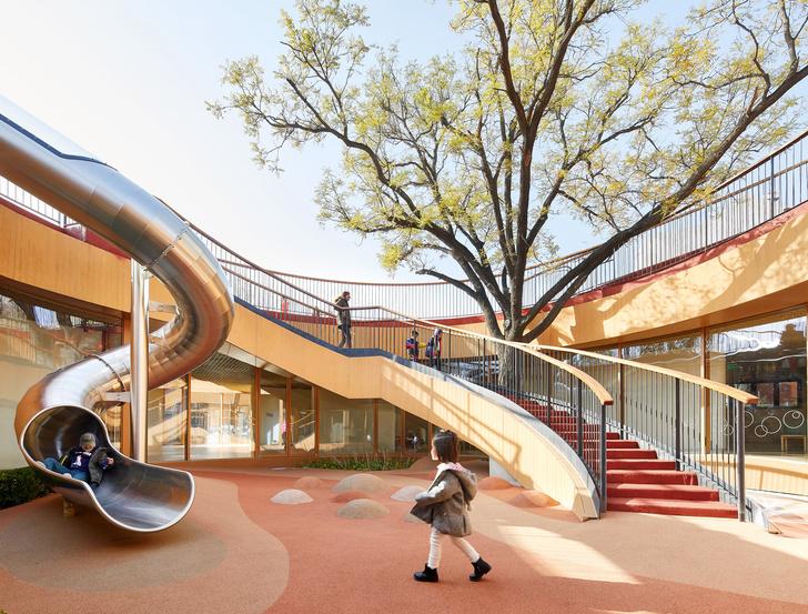 Фото №5 - Детский сад с игровой площадкой на крыше