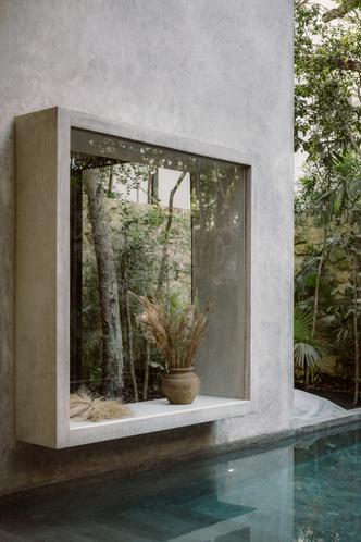 Фото №5 - Бруталистская бетонная вилла в джунглях Тулума