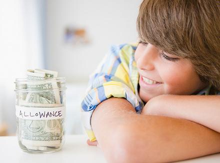 Он просит больше карманных денег