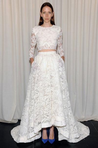 Свадебное платье Houghton осень-2014