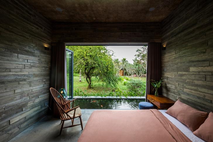 Фото №8 - Дом с соломенной крышей и прудом во Вьетнаме