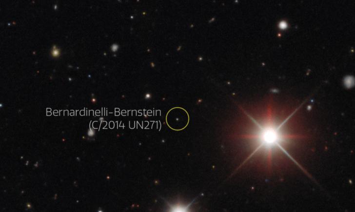 Фото №1 - На окраинах Солнечной системы обнаружили гигантскую комету