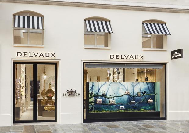 Фото №1 - Новый бутик Delvaux в самом сердце Парижа