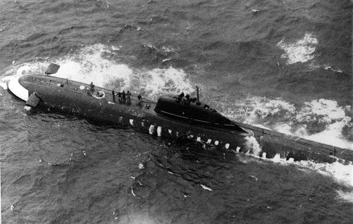 Фото №1 - К-8: советская атомная подлодка с трагической судьбой