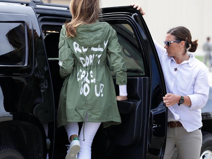 Фото №3 - Куртка-провокация: как Джилл Байден «ответила» Мелании Трамп