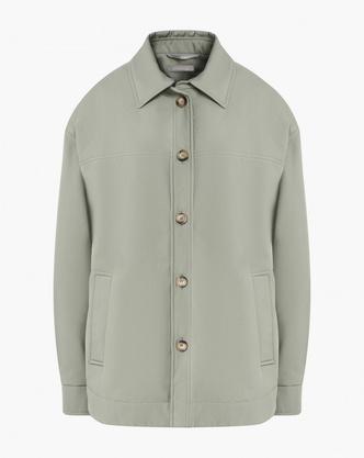 Фото №8 - Где купить точно такую же куртку-рубашку, как у Лили Коллинз, и еще 4 похожие альтернативы