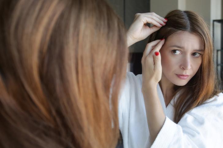 выпадение волос: причины